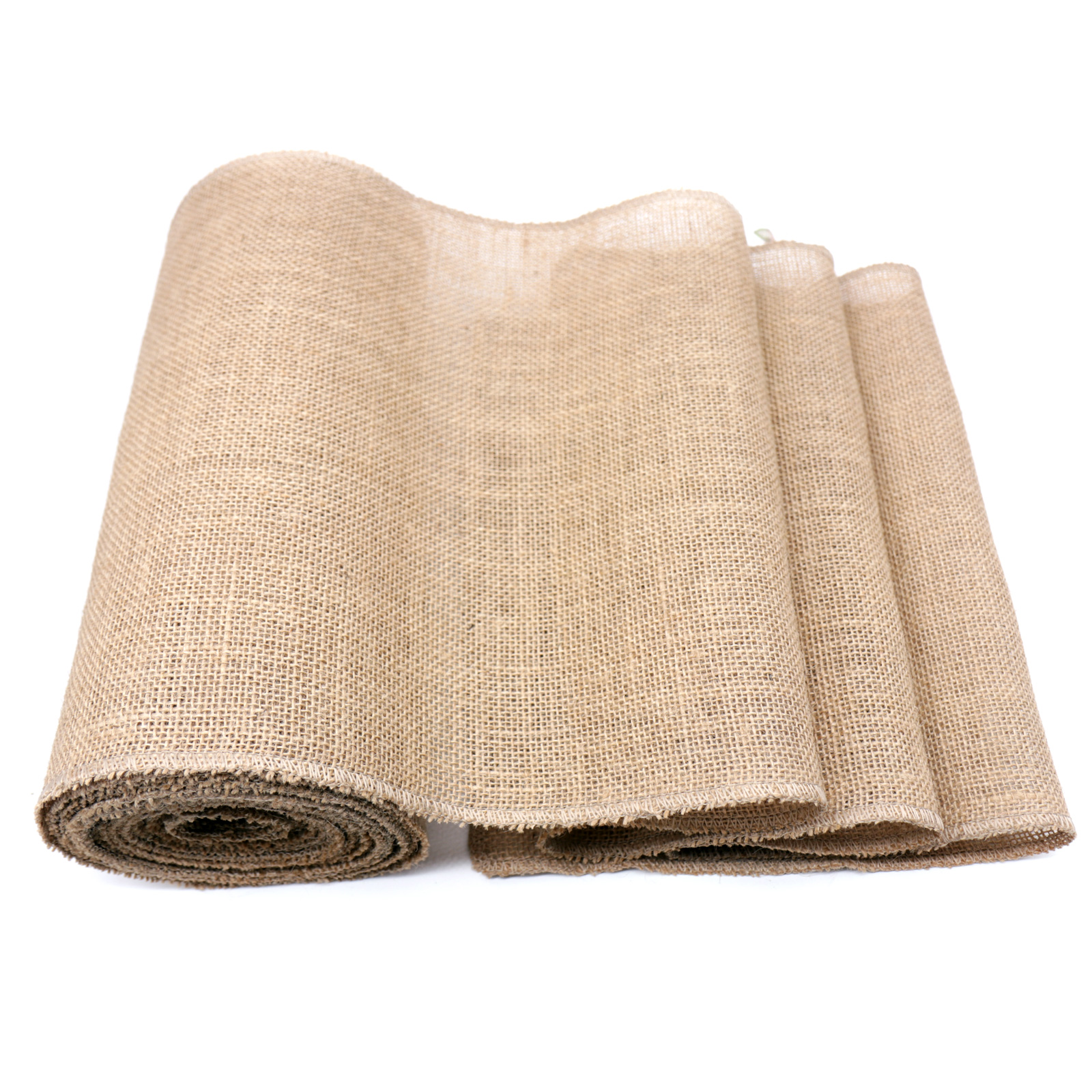 1pcs 30CM*10M Rustic Country Wedding Party Decorations Table Runner Burlap Natural Jute Linen For Table Decor Home Table Cloth