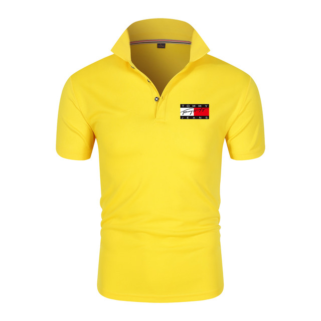Men's Polo Shirt Fashion Casual Sports T-shirt Track and Field Sportswear Modern Short Sleeve New Trend 2021 6