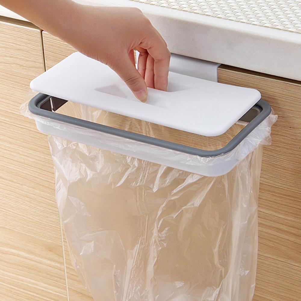 Portable Plastic Garbage Hanging Bag