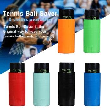 Tennis Ball Saver - Pressurized Tennis Ball Storage That Keeps Balls Bouncing Like New