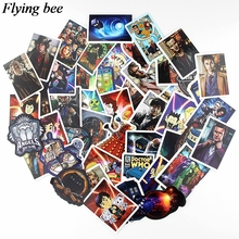 Get more info on the Flyingbee 58 pcs Doctor Who Car Sticker fashion PVC scrapbooking Stickers for DIY Luggage Laptop Notebook Sticker X0531