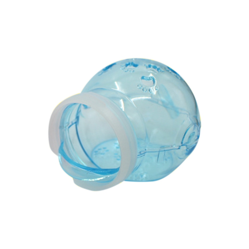 Transparent Small Pet Cage External Toilet With Breathable Holes Hamster Bathroom Hanging Small Animal Sand Bath House