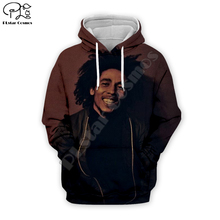PLstar Cosmos Reggae Bob Marley Tracksuit Colorful 3DPrint Hoodie/Sweatshirt/Jacket/shirts Men Women hiphop casual new fashion Swag cool s-4