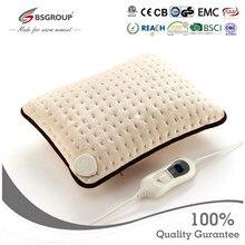220 v-240 v ue plug 40x30cm microplush almofada de aquecimento elétrica travesseiro para pescoço e estômago alívio da dor inverno mais quente terapia de calor