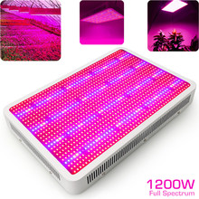 1200W LED Grow Light Full Spectrum Plant Lighting Fitolampy for Indoor Plants Flower Greenhouse Grow Tent Vegs Seedling Growing