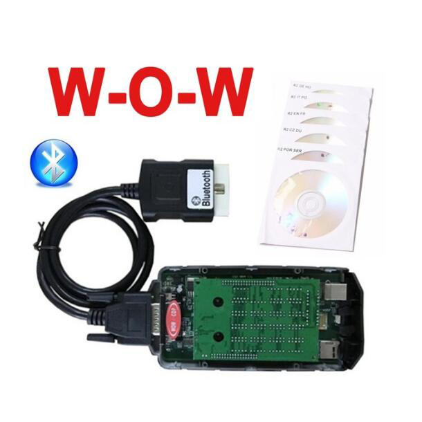 10pc/lot DHL fast ship v5.008 R2 /v5.012 with Bluetooth for delphis VD DS150E CDP cars trucks obd2 diagnostic scan tool
