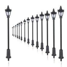 Миниатюрный уличный фонарь в стиле Хо садовый светильник для