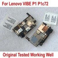 Оригинальный Новый мобильный электронная панель материнская плата схемы плата гибкий кабель для lenovo VIBE P1 P1a42 P1c72 P1c58 3 ГБ 16 ГБ