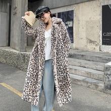 Зимнее женское Модное Элегантное теплое пальто из искусственного меха с длинным рукавом и v-образным вырезом, парка из искусственного меха кролика Рекс, XHSD-427