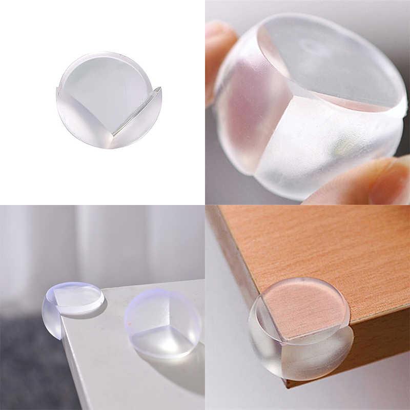 Protetores de canto para mesas de segurança do bebê transparente para crianças ângulo de mesa de proteção anti-colisão móveis elástico macio