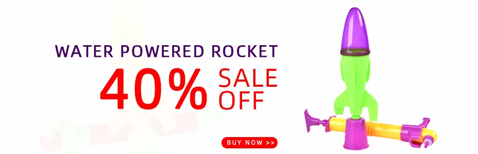 Rocket Launcher Outdoor Toy Jump Jet Launcher Water Powered Rocket Developing Intelligent STEM Physics Experiments