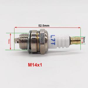 Motosserra cortador de escova spark plug para stihl husqvarna 2 tempos cortador de grama do motor ferramentas jardim peças reposição