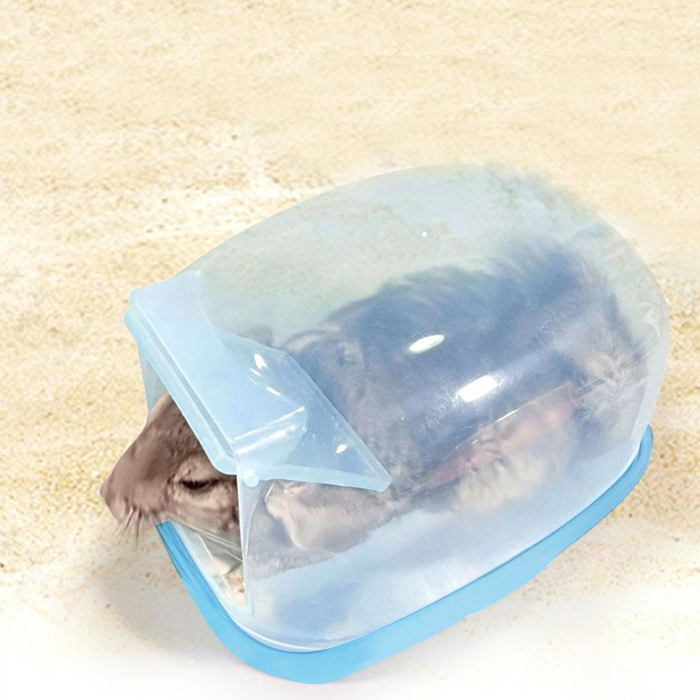 Pet Chinchilla Bathroom Shower Room Squirrel Hedgehog With Door Large Bath Room Transparent Sauna Room Supplies