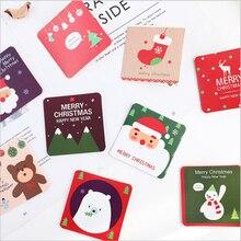 1Pcs/lot Kawaii Christmas series Greeting Card With Envelope Birthday Wedding Gift Cards