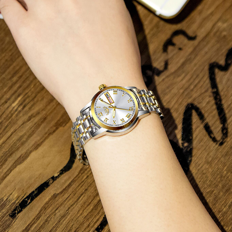 Ultimate SaleLIGE Ladies Watch Clock Bracelet Rose-Gold Feminino Top-Brand Women Luxury Steel-Strap