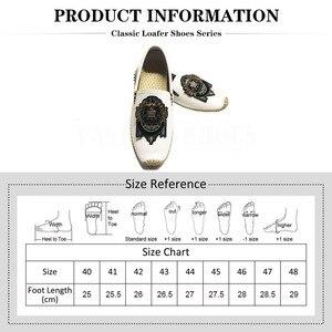 Image 3 - F.N.แจ็คPLUSขนาดรองเท้า 46 47 48 Mens Loafers Casualรองเท้าผู้ชายแฟชั่นหนังขับรถรองเท้าแตะผู้ชายรองเท้าman