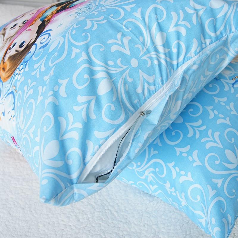 Image 4 - 3D Printed Bedding Set Frozen Elsa Anna Rapunzel Princess Girls  Boys Single Bedlinen Duvet Cover Pillowcases for 0.9m 1.2m BedBedding  Sets