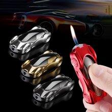 Креативная Спортивная Автомобильная зажигалка металлическая