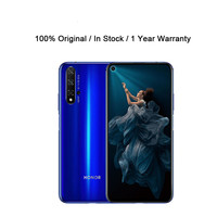 DHL entrega rápida Honor 20 inteligente teléfono Kirin 980 8GB RAM 128GB ROM huella dactilar 6,26 pulgadas Android 9,0 Bluetooth 48.0MP Octa Core