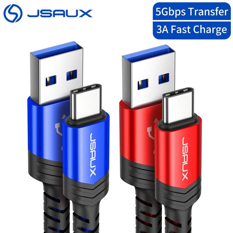 USB 3,0 tipo C Cable de carga rápida de 3A... Jsaux USB C A USB un Cable 5Gbps Cable de cargador de datos para Samsung Galaxy S9 S10 Huawei P10 Gadinan, 10M, 20M, 30M, 50M, Cable CAT5E de red Ethernet, cable LAN RJ45 para cámara IP de red, Kit de sistema de cámara POE de Internet