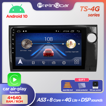 Prelingcar Android 10.0 NO 2 din DVD Car Radio Multimedia Video Player GPS Navigation For HONDA BRV 2015-2019 Octa-Core 4G 64G image