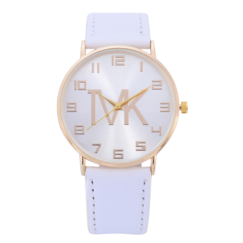 Reloj Mujer 2019 New Luxury Brand TVK Casual Watch Fashion Women Leather Belt Quartz Wristwatch Men Casual Outdoor Watches Chasy