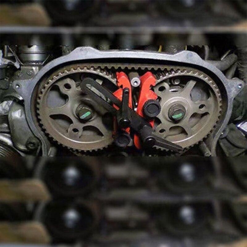 Image 2 - 5 Pcs Universal Cam Camshaft Lock Holder Car Engine Cam Timing Locking Tool Set Drop Ship n21-in Sheet Metal Tools Set from Automobiles & Motorcycles