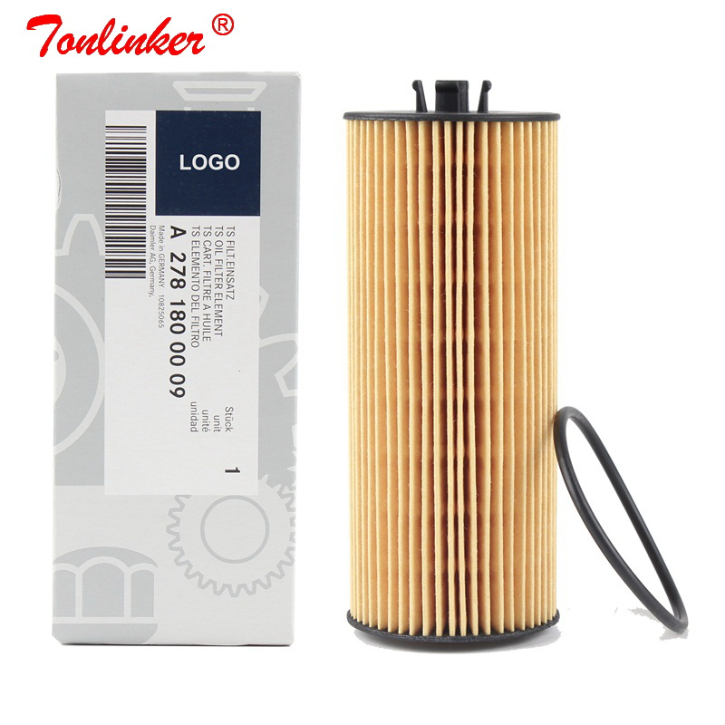 Oil Filter A2781800009 1 Pcs For Mercedes Benz C-CLASS W205 A205 C205 S205 2013-2019 C63 AMG S Model Car Paper