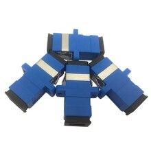 50/100/200/500 шт. оптический патч-корд Simplex одномодовый волоконно-оптический адаптер SC волоконно-оптический соединитель