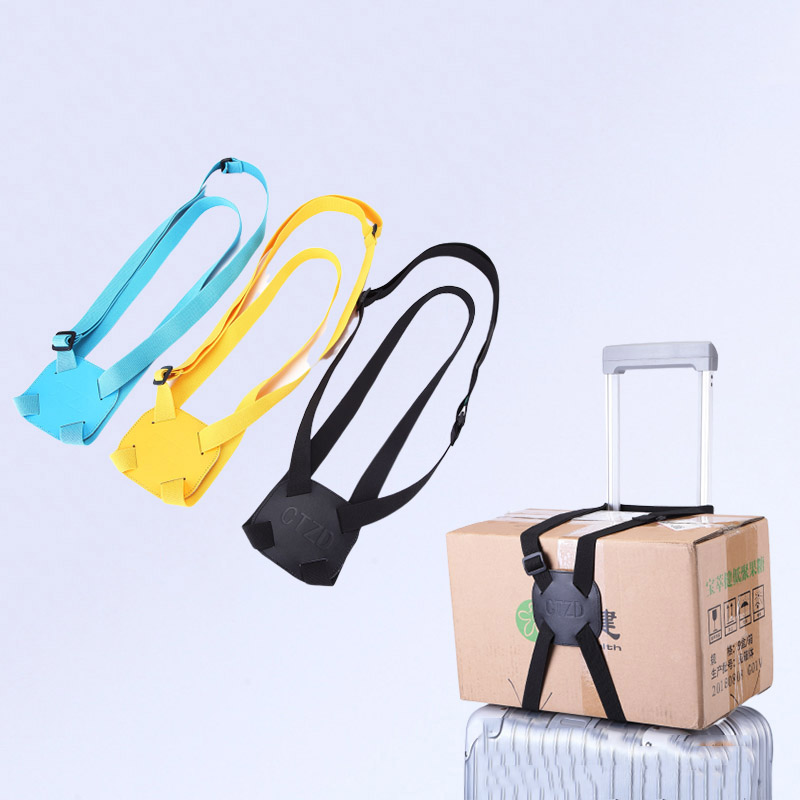 Travel Adjustable Luggage Straps Baggage Bungee Bundle Durable Travel Bag Parts Suitcase Fixed Belt Carrier Strap Accessories
