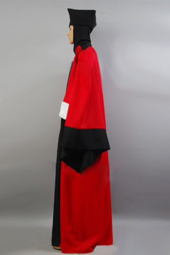 Star Trek The next generation Q/'s judge robe Cosplay Halloween Costume Full Set