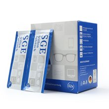 52 очки Анти туман салфетки в индивидуальной упаковке одноразовые