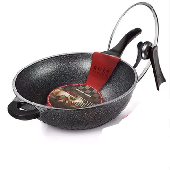 Korean household maifan stone non-stick wok frying pan pan induction cooker gas stove for cooking pot