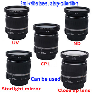 Image 2 - Hot Sale 49mm 52mm 49 55mm  49 58mm 49 62mm 49 67mm 49 72mm 49 77mm 49 82mm Lens Step Up Down Ring Filter All Camera Adapter Set