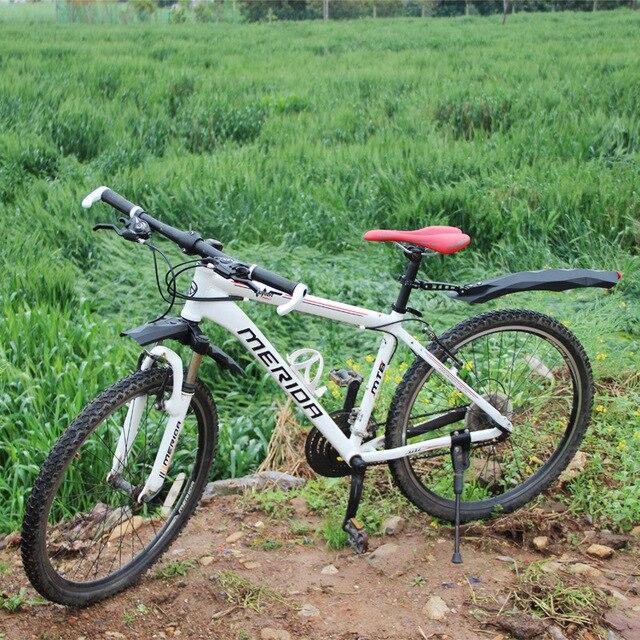 MTB 도로 자전거 흙 가드 자전거 정면 후방 진흙 가드 사이클링 프레임 보호 사이클 액세서리 야간 경고 테일 라이트