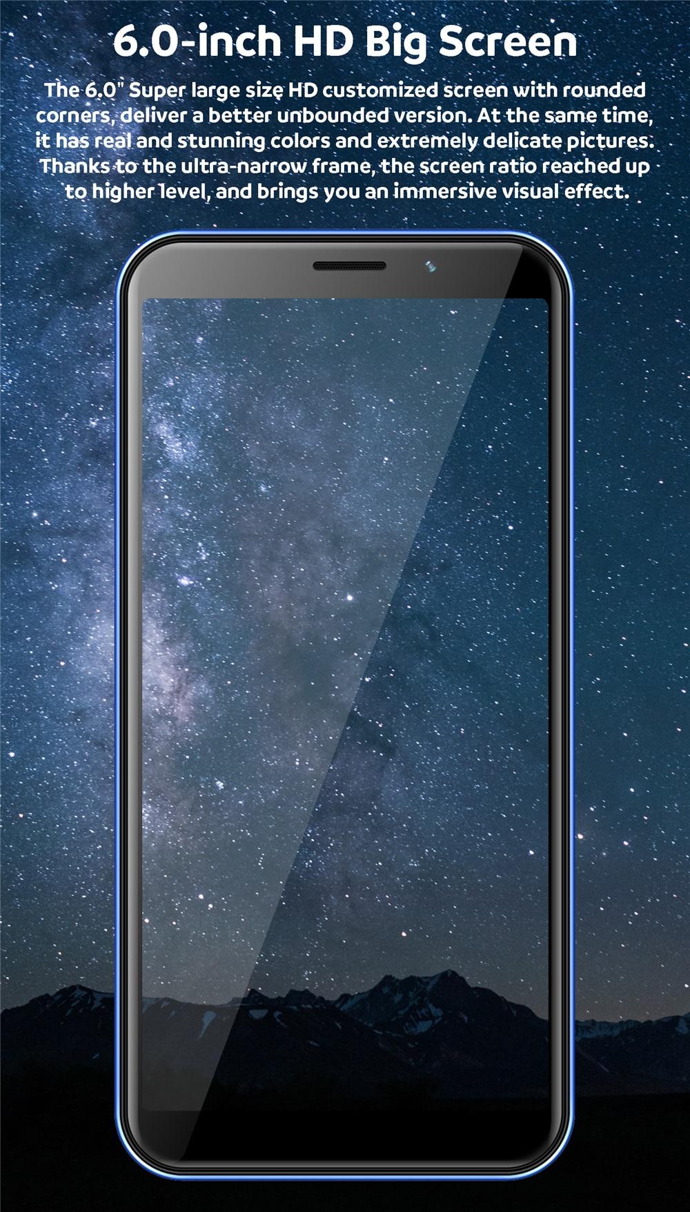 6.0-inch HD Big Screen