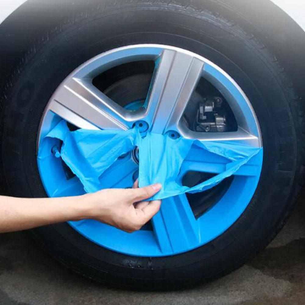 Kuulee Auto Car Wheel Spray Film Full Car Tire Body Wheel Color Change Wheel From Painting Hand Tearing Can Tear Spray Film
