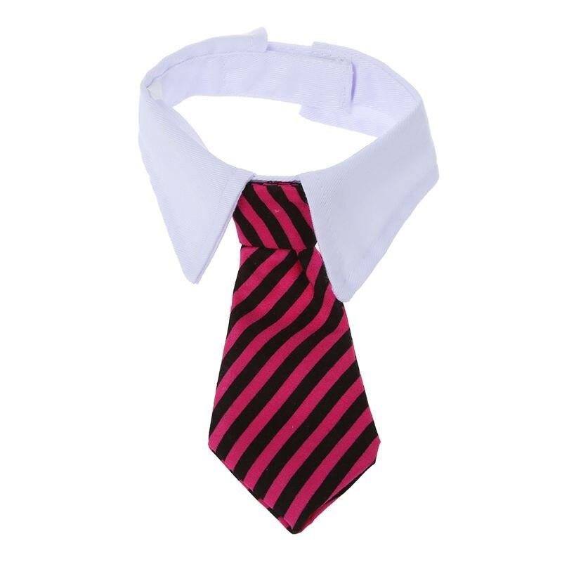 Tie Adjustable Tie For Dog Cat Collar Bow Tie Animals Wedding Garment