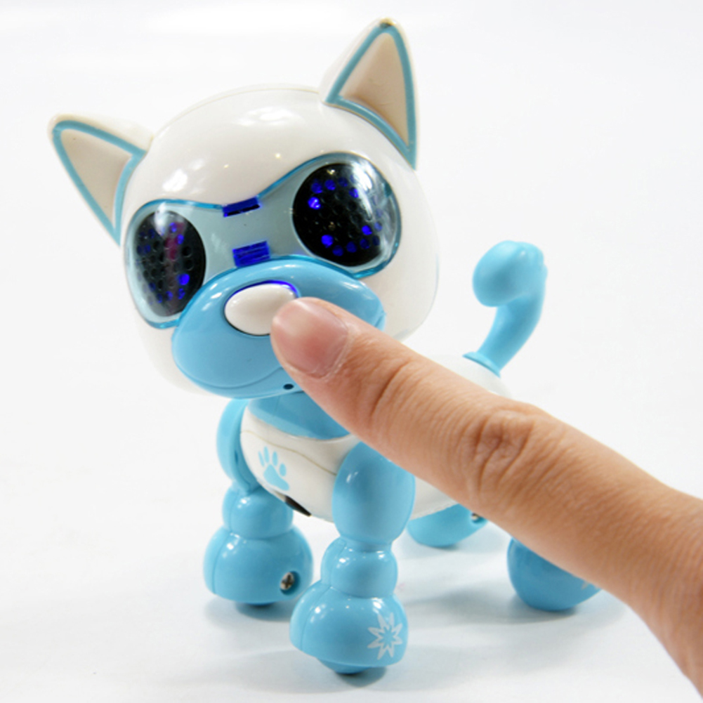 Electric Puppy Robot Touch Sense Sound Recording LED Eyes Interactive Kids Dogs Toys For Boys Girls Intelligent Robot Present 27