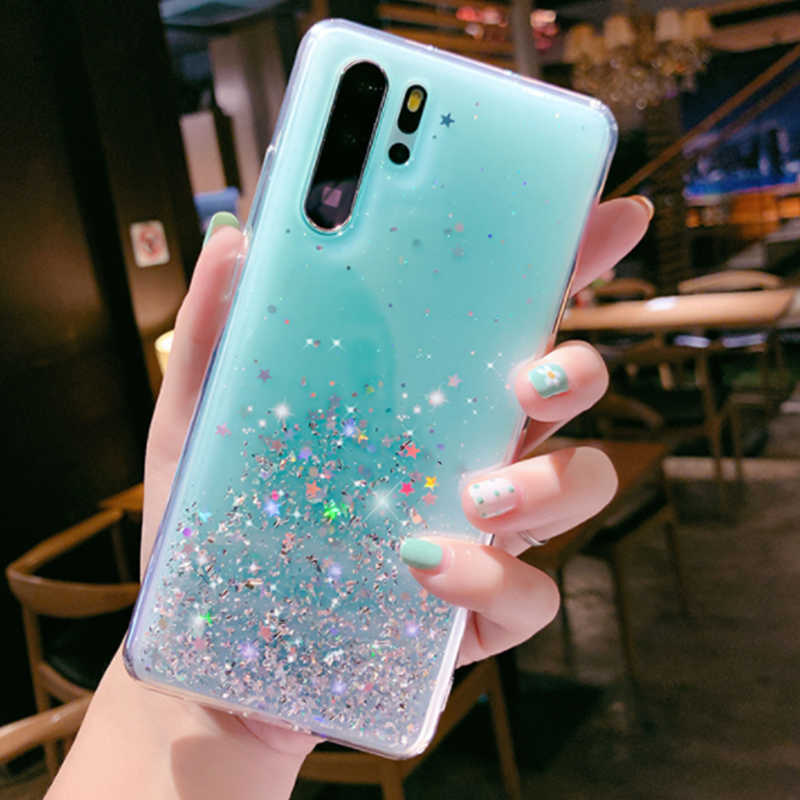 Cute Case For Xiaomi MI 9 SE 9T A2 A3 8 lite PocoPhone F1 Mix 2s 3 Redmi 7 7A Note 8 6 5 7 Pro Case Glitter Bling Cover Capa