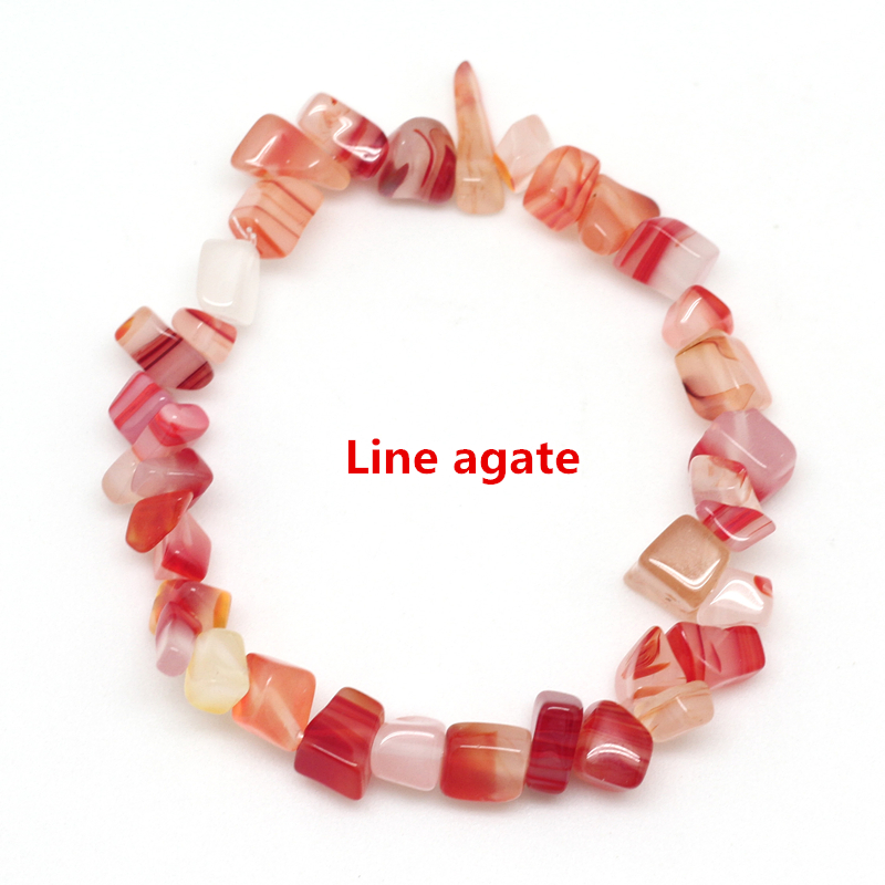 Line agate