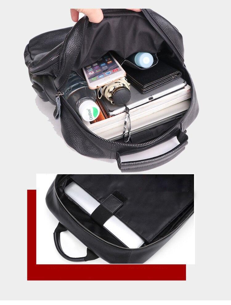 Zency grande capacidade diária casual mochila de