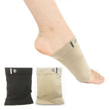 Buy Silicone Gel Arches Footful Orthotic Arch Support Foot Brace Flat Feet Relieve Pain Comfortable Shoes orthopedic pad insole directly from merchant!