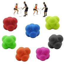 1 Pc Hexagonal Silicone Reaction Ball Fitness Sport Speed Agility Coordination Skill Training Unpredictable Reaction Ball torres reaction ball tl0008 page 9