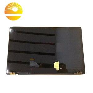 Image 3 - 12.5 Inch Full Lắp Ráp Dành Cho ASUS ZENBOOK 3 UX390 UX390UA UX390UAK Laptop Hoàn Chỉnh Màn Hình Hiển Thị LCD Sreen Tấm Khung Trên một Nửa