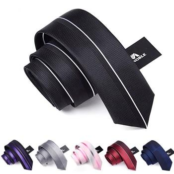2020 Brand New Fashion Skinny Neck Tie Slim for Men Casual 6CM Business Neckties Gravata Gift Box