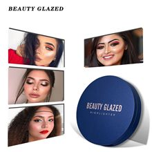 BEAUTY GLAZED Make up 8 Colors Highlighter Palette Makeup Face Contour Powder Bronzer Professional Eyeshadow Palette DHL