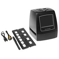 Scanner de Film 135 haute résolution Portable convertisseur de Film coulissant 35Mm visionneuse d'image numérique avec écran Lcd 2.4 pouces Editin intégré Scanners 3D     -