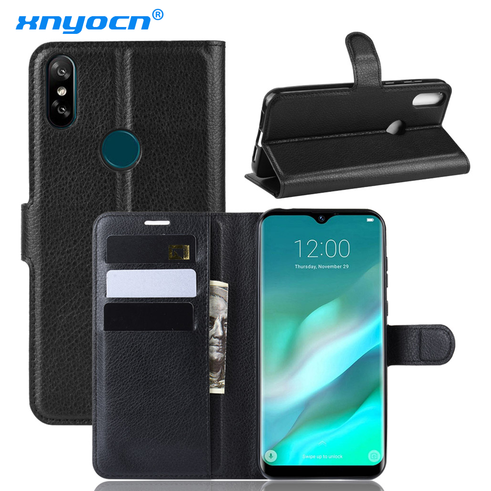 Doogee X70 X60L Case Doogee Y8 N10 Case Cover Luxury PU Leather Wallet Phone Case for Doogee Y8C BL12000 Flip Protective Cover image