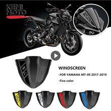 Voor Yamaha Mt 09 MT09 Voorruit Voorruit 2017 2018 2019 2020 Motorfiets Accessoires Fz 09 FZ09 Voorruit Voorruit Stickers